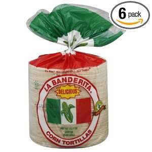 Ole Mexican La Banderita Corn Tortilla: Grocery & Gourmet Food
