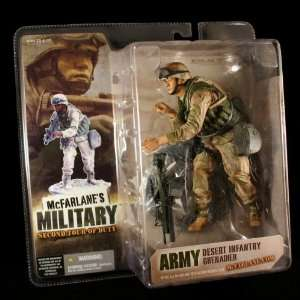 Military Second Tour of Duty Action Figure & Display Base Toys