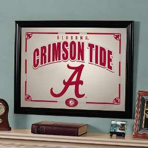 Memory Company Alabama Crimson Tide Framed Mirror Sports
