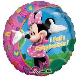 Minnie Mouse Feliz Cumpleanos 18 Mylar Balloon Disney  Toys & Games