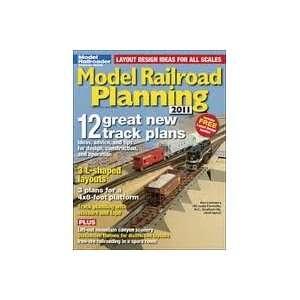 Model Railroad Planning 2011 model railroader Books