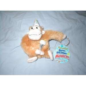 Happy Birthday Monkey Keychain: Toys & Games