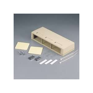 SNAP IN SURFACE MOUNT BOX 6 PORT WHITE
