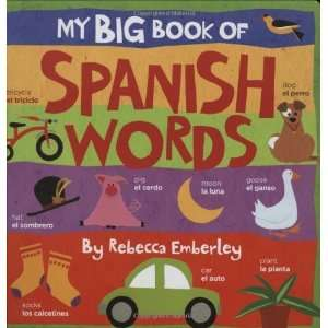 My Big Book of Spanish Words [Board book] Rebecca