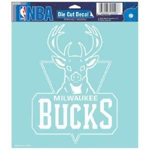 NBA Milwaukee Bucks 8 X 8 Die Cut Decal