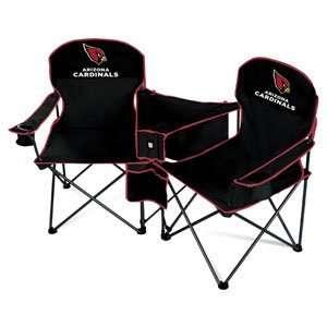 Arizona Cardinals NFL Deluxe Folding Conversation Arm Chair