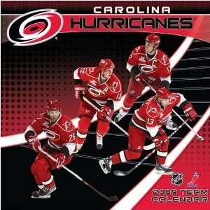 Carolina Hurricanes NHL 12 x 12 Team Wall Calendar Sports