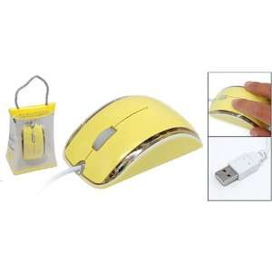 Gino Mini Laptop PC 3D USB Optical Mouse with Flash Light Electronics