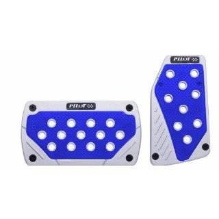 Pilot Automotive Accessory PM 290B 3 Piece Power Pedals, Blue