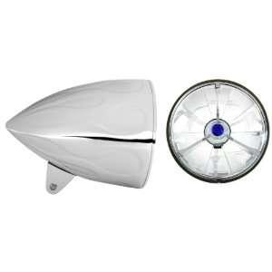 Bucket Combo with Pie Cut Blue Dot Tri Bar Headlamp (Part No T50703