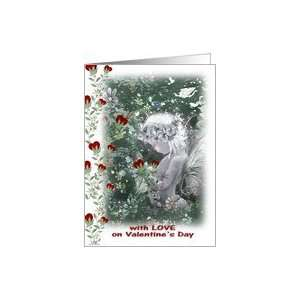 Faery and Hearts, Love on Valentines Day Card Health