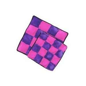 Kyjen Company Squeaker Mat   Pink/Purple   Large   Plush