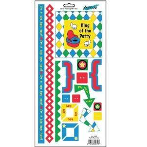 Em Cardstock Stickers   Potty Training Boy  Home & Kitchen