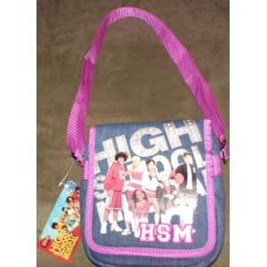 Blue Denim High School Musical Mini Messenger Bag Office