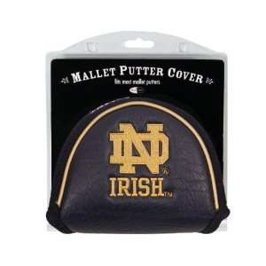 Notre Dame Fighting Irish Mallet Putter Cover Headcover