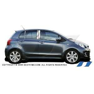 Toyota Yaris Sedan 2007 10 SES Chrome Pillar Post / Posts