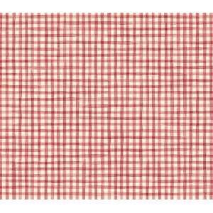 Pin red gingham wallpaper on pinterest for Red check wallpaper