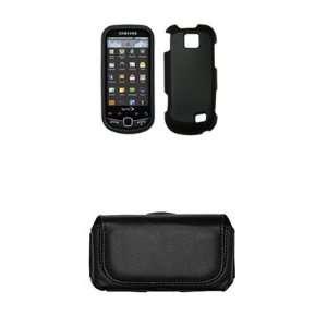 Samsung Intercept M910 Premium Black Rubberized Case Cover