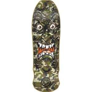 Santa Cruz Roskopp Face Camo Deck 9.5x31 Reissue Skateboard