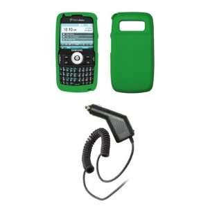 com Samsung Exec i225   Neon Green Soft Silicone Gel Skin Cover Case