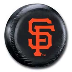 San Francisco Giants MLB Black Spare Tire Cover