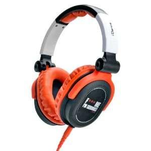 Recording Studio Equipment , Orange and Black Musical Instruments