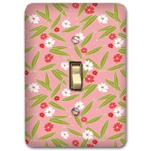 Floral Metal Light Switch Plate Girl Home Decor 221: Home & Kitchen