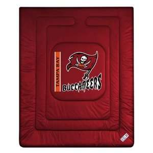 Tampa Bay Buccaneers Comforter Full Queen Sports