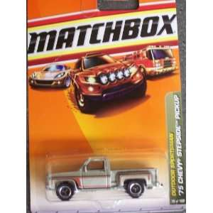 Matchbox Outdoor Sportsman 1975 Chevy Stepside Pickup Toys & Games
