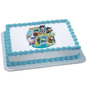 Lets Party By Deco Pac Disney Toy Story 3   Toys at Play Edible Icing