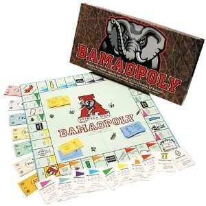 Alabama Crimson Tide Bamaopoly Monopoly Game Toys & Games