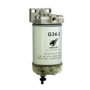 Griffin G341 2 Spin On Fuel Filter / Water Separator Automotive