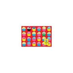 Accoutrements Cupcake Gift Wrap Paper   2 Sheets Health