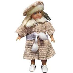 Autumn Shopping Outfit   Fits American Girl 6.5 Inch Doll