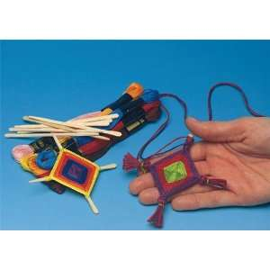 Ojo de Dios Medallions Craft Kit (Makes 36): Toys & Games