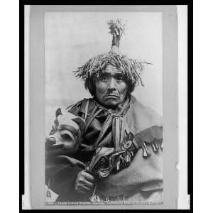 Takou Indian doctor,Alaska,AK,Traditional Dress,Tlingit