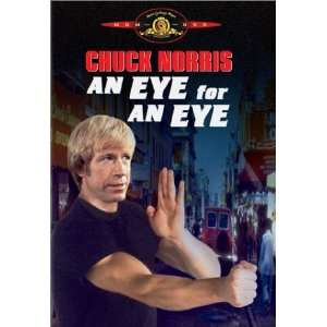 An Eye For An Eye Chuck Norris, Christopher Lee, Richard