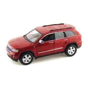 Jeep Grand Cherokee Laredo 1/24 Metallic Red Toys & Games