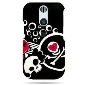 DEATH & LOVE Design Faceplate Cover Sleeve Case for KYOCERA E3100 RIO