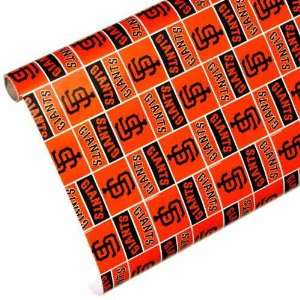 MLB San Francisco Giants Spirit Block Wrapping Paper