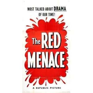 The Red Menace Poster Movie 20 x 40 Inches   51cm x 102cm Robert