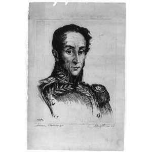 Simon Bolivar (1783 1830) by Pierre Nuyttens Home