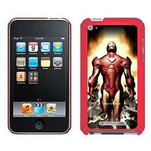 Iron Man Breaking on iPod Touch 4G XGear Shell Case