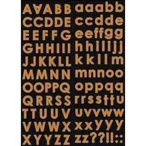 Trick Or Treat Cardstock Stickers Pumpkin Alphabet