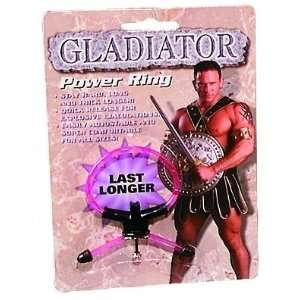 Bundle Gladiator Power Ring and 2 pack of Pink Silicone Lubricant 3.3