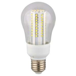 60W LED Clear COOL White Light Bulb (10 pack)