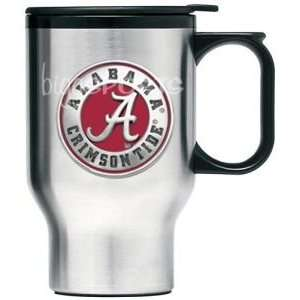 Alabama Crimson Tide Stainless Steel Travel Mug Sports