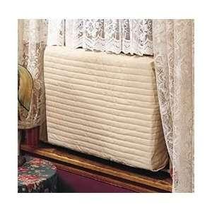 Indoor Air Conditioner Cover (Beige) (Medium   15  17H x 22  25W x 2