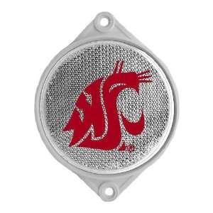 Washington State Cougars NCAA Mailbox Reflector Clear