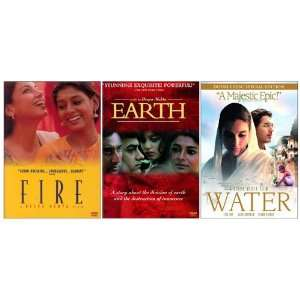Fire, Earth and Water (Deepa Mehta) (3 Pack): Shabana Azmi
